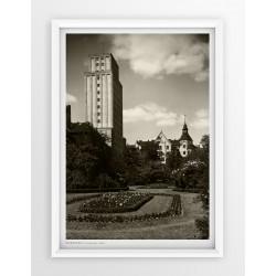 Plakat fotografia - WARSZAWA / PRUDENTIAL / 1936r
