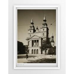 Plakat fotografia - POZNAŃ / KATEDRA / 1939r