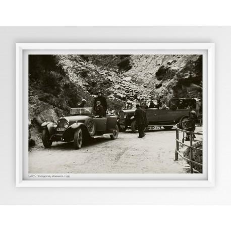 Plakat fotografia - TATRY /  WODOGRZMOTY MICKIEWICZA / 1935r