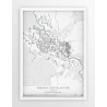 Plakat mapa ABBADIA SAN SALVATORE - linia WHITE