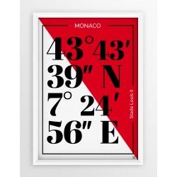 Plakat typograficzny AS MOANCO
