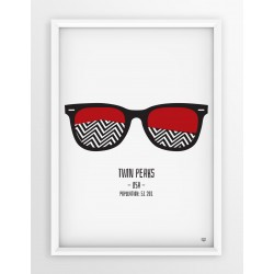 Plakat TWIN PEAKS - okulary