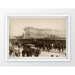 Plakat fotografia - WARSZAWA / LEGIA / 1930r