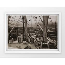Plakat fotografia - GDYNIA / PORT / 1939r