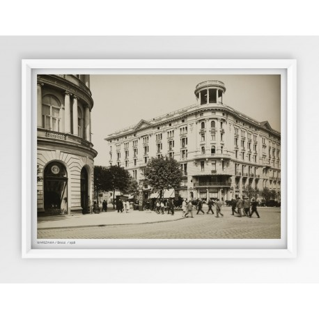 Plakat fotografia - WARSZAWA / BRISTOL / 1918r