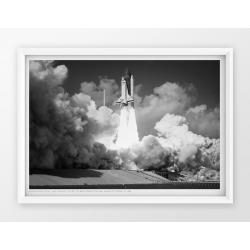 Plakat fotografia - CHALLENGER /NASA/1985