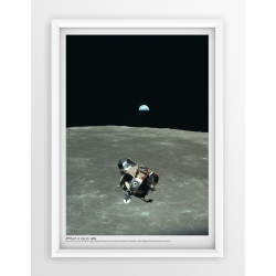 Plakat fotografia - APOLLO11 /NASA/1969