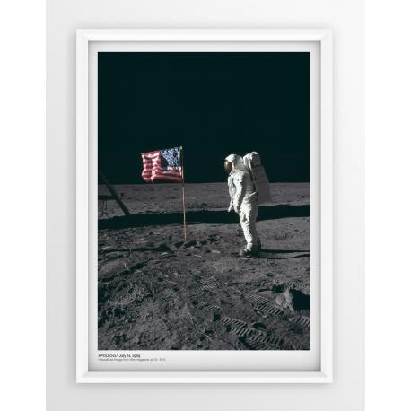 Plakat fotografia - APOLLO11 /NASA/1969/2