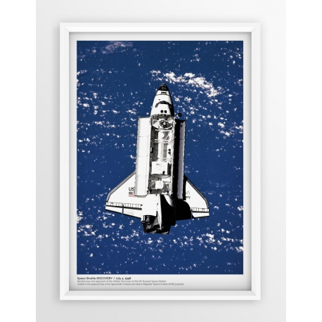 Plakat fotografia - PROM KOSMICZNY DISCOVERY/NASA/1998