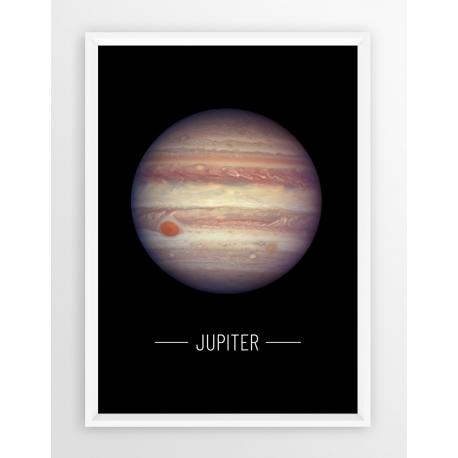 Plakat fotografia - PLANETA JOWISZ/NASA