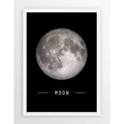Plakat fotografia - KSIĘŻYC / MOON