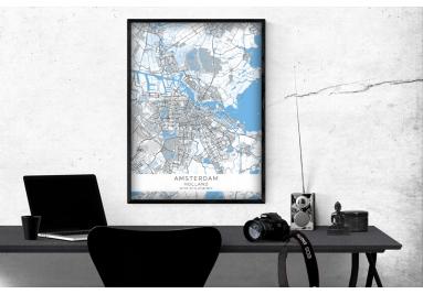 Plakaty na ścianę - linia BLUE/GREY